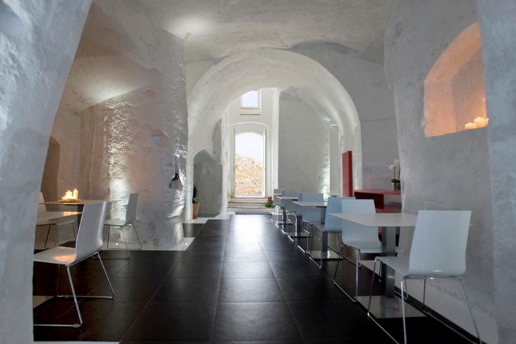 Breakfast Room - Basiliani Hotel - Matera