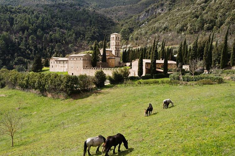 General View - Abbazia San Pietro in Valle - Ferentillo