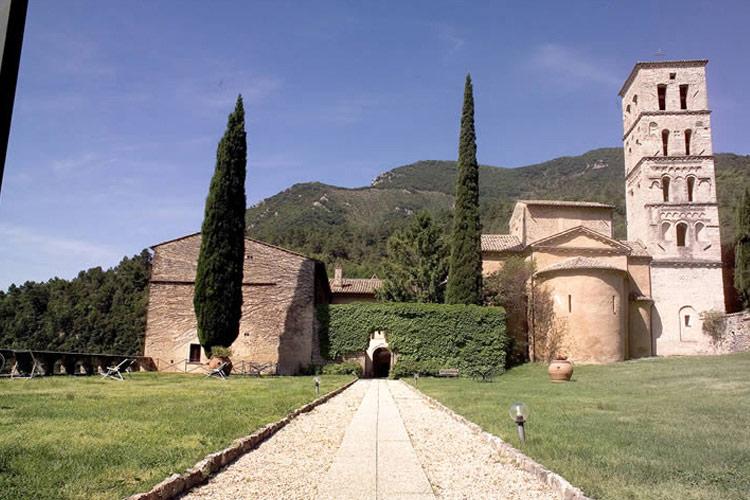 Exteriors - Abbazia San Pietro in Valle - Ferentillo