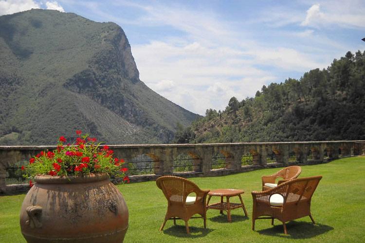 Garden and Views - Abbazia San Pietro in Valle - Ferentillo