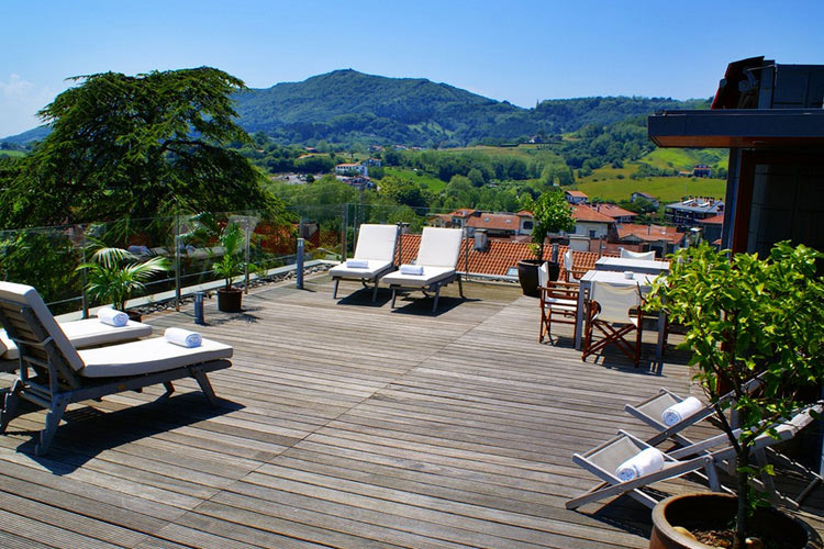Hotel jaizkibel h tel boutique hondarribia for Small great hotels