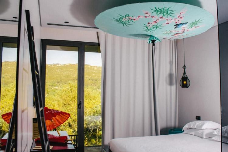 Exotismo Sensualidade Room - Cooking and Nature Emotional Hotel - Alvados