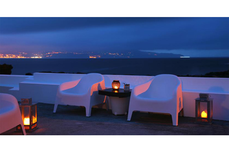 Terrace at Night - Pocinhobay - Pico