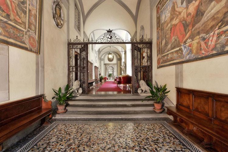 Entrance - Palazzo Magnani Feroni - Florenz