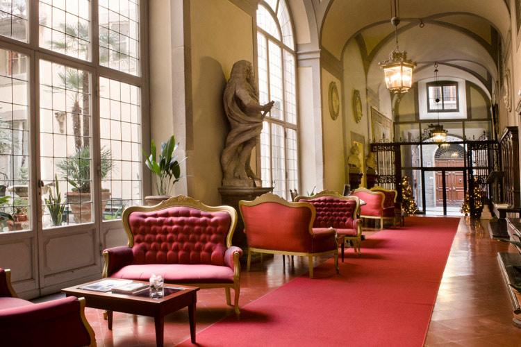 Hall - Palazzo Magnani Feroni - Florenz
