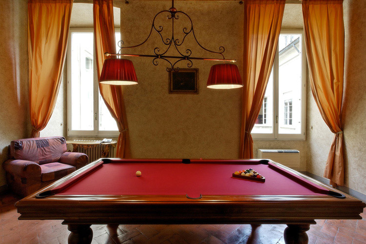 Billiard-Room - Palazzo Magnani Feroni - Florenz