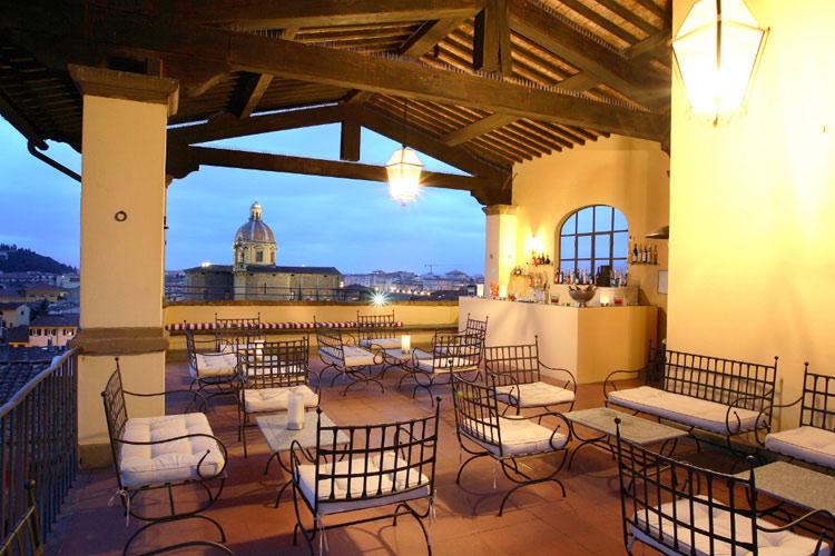 Roof-Top-Terrace - Palazzo Magnani Feroni - Florenz