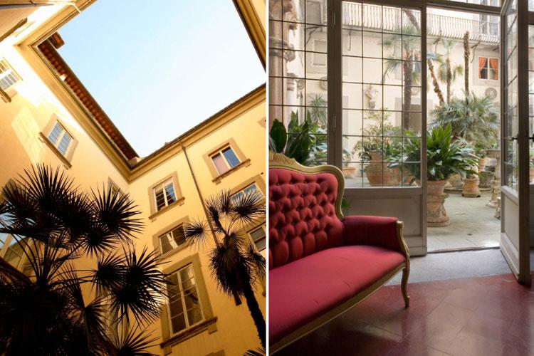 Patio - Palazzo Magnani Feroni - Florenz