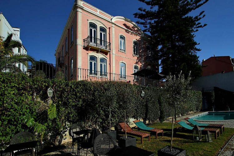 Torel palace a boutique hotel in lisbon for Lisbon boutique hotel swimming pool