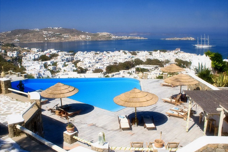Vencia boutique hotel a boutique hotel in mykonos for Small boutique resorts