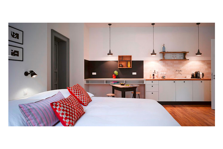 gorki apartments a boutique hotel in berlin. Black Bedroom Furniture Sets. Home Design Ideas