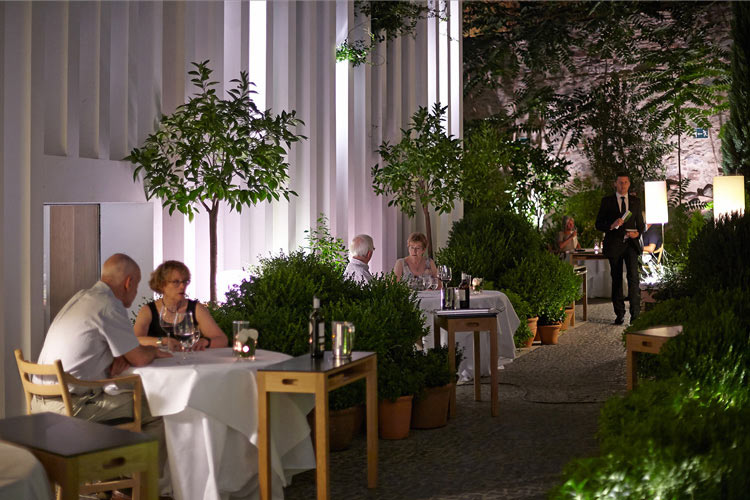 Terrace Restaurant - Atrio Restaurante Hotel - Cáceres