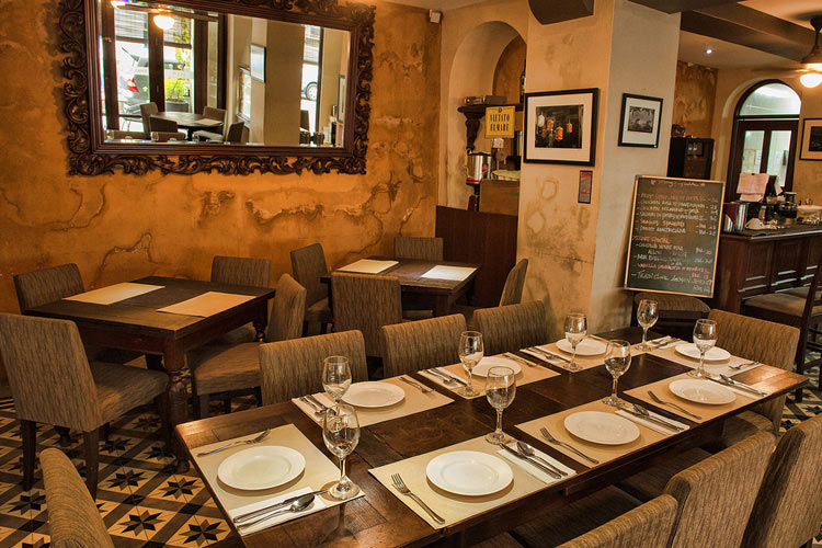 Restaurant - Campbell House - Georgetown
