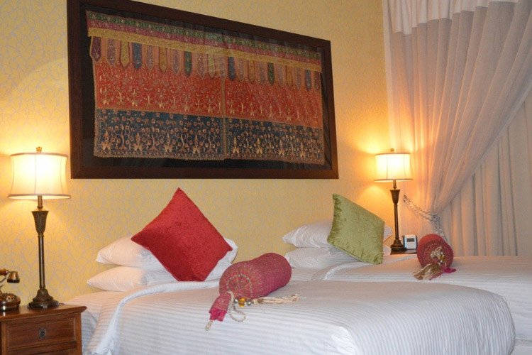 Indochine Deluxe Double Room - Campbell House - Georgetown