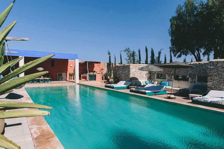 Swimming-Pool - Hotel Baoussala - Essaouira