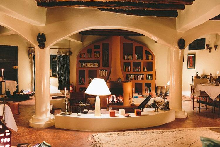Living-Room - Hotel Baoussala - Essaouira