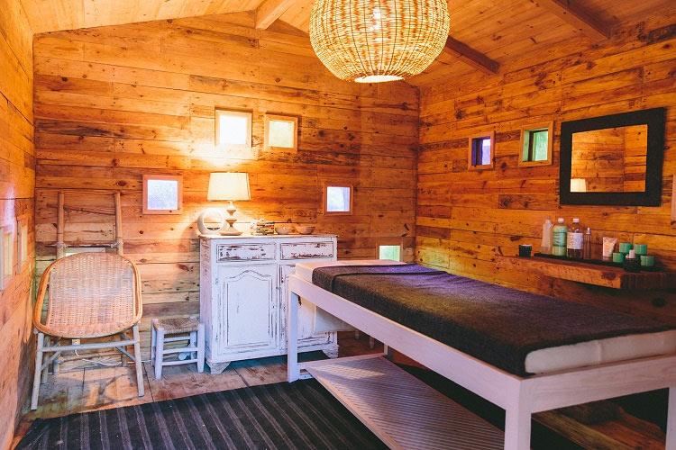 Massage-Cabin - Hotel Baoussala - Essaouira