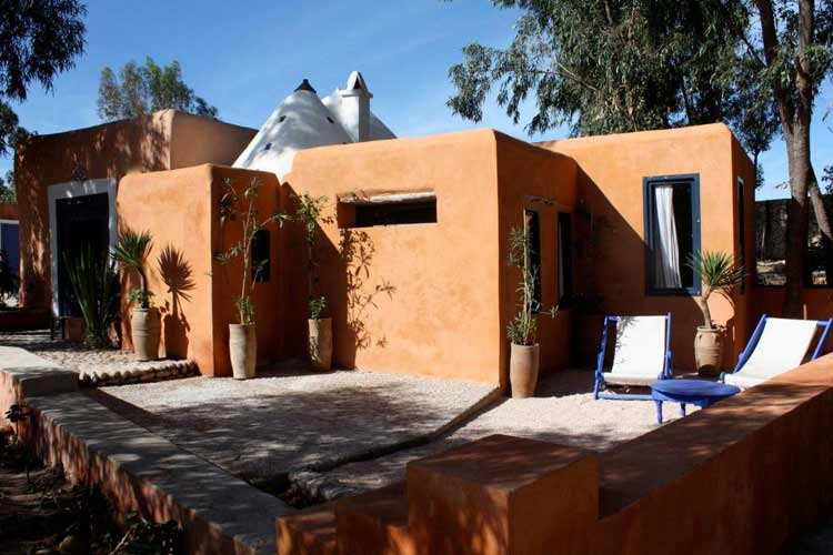 Private-Terrace - Hotel Baoussala - Essaouira