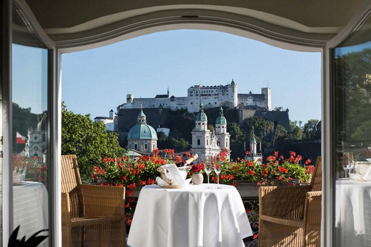 Hotel Bristol Salzburg Restaurant