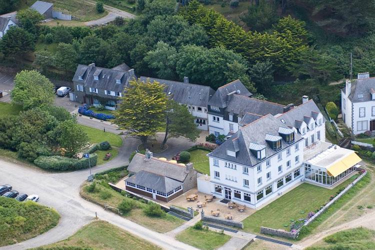 Aereal View - Hôtel de la Plage - Plonévez-Porzay