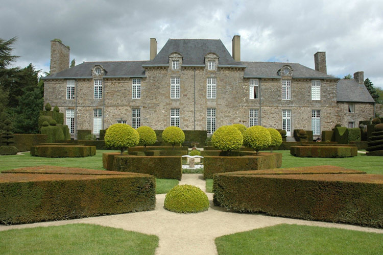 Facade - Château de la Ballue - Bazouges-la-Pérouse
