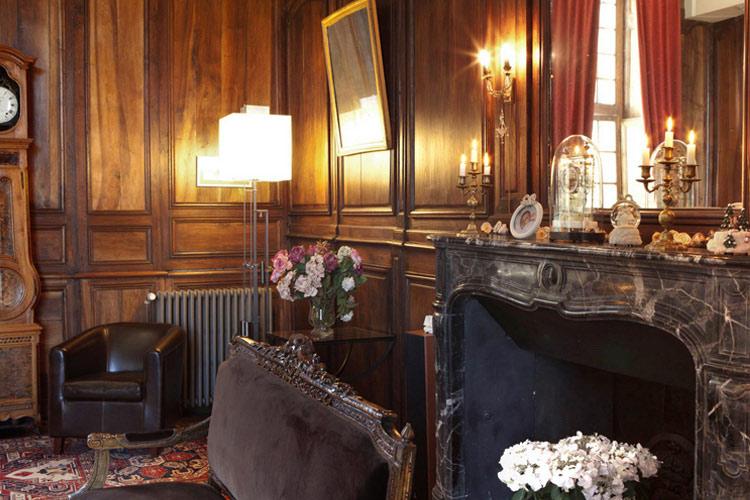 Interiors - Château de la Ballue - Bazouges-la-Pérouse