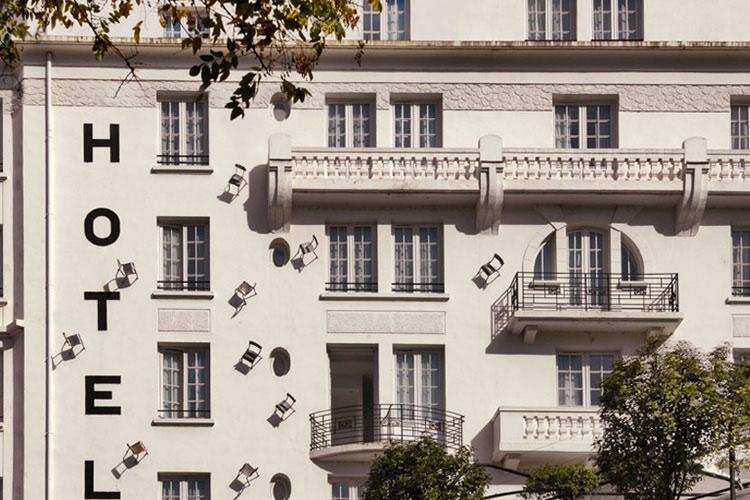 Facade - Hotel le Collège - Lyon