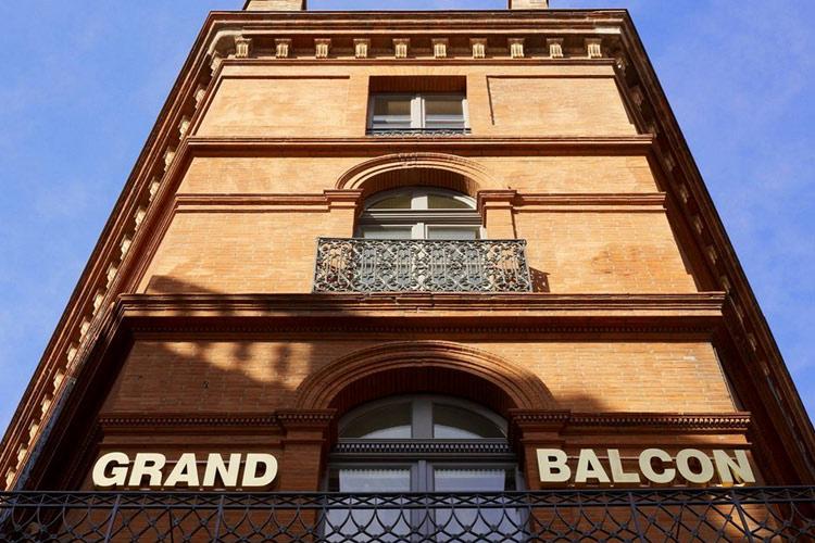 Facade - Le Grand Balcon Hotel - Toulouse