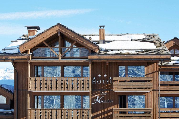 Facade - Hotel des 3 Vallées - Courchevel