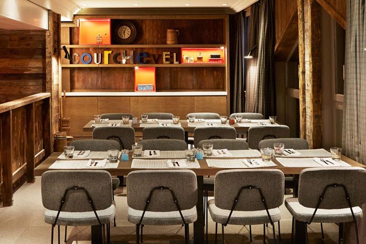 Breakfast Room - Hotel des 3 Vallées - Courchevel