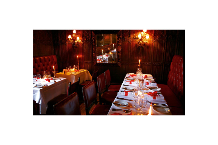 Restaurant - The Witchery by the Castle - Edinburgh