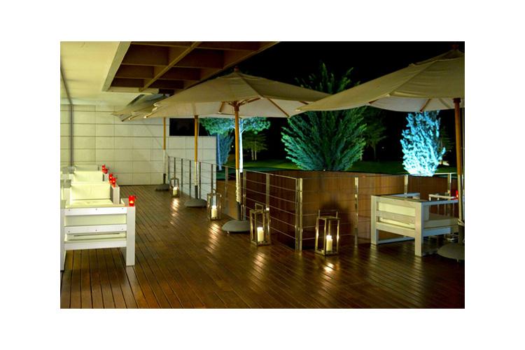 Terrace - Finca Prats Hotel Golf & Spa - Lleida