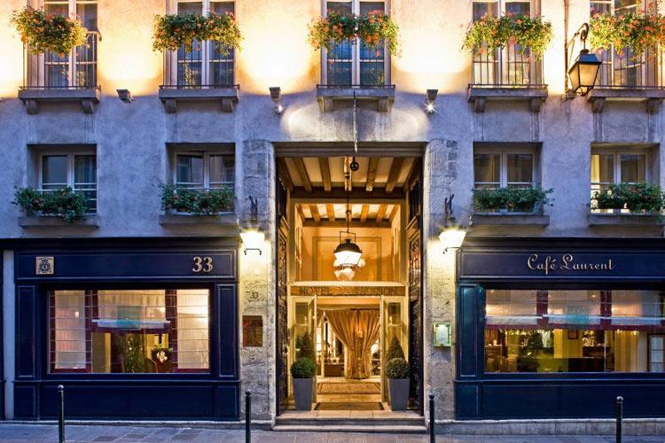 Facade - Hotel d'Aubusson - Paris