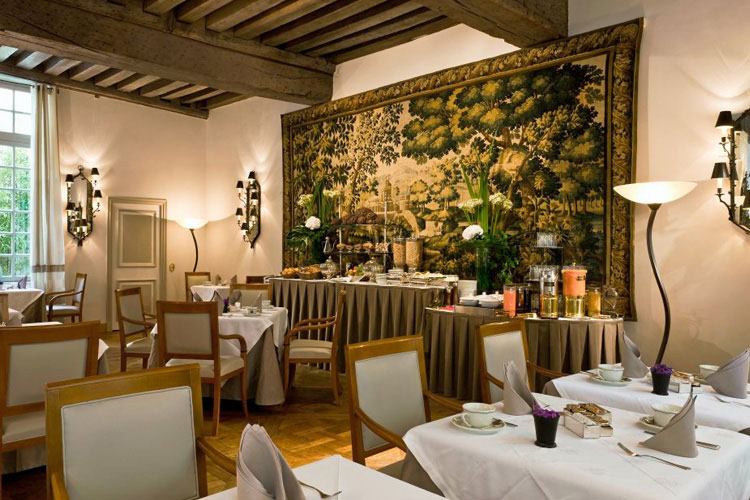 Breakfast Room - Hotel d'Aubusson - Paris