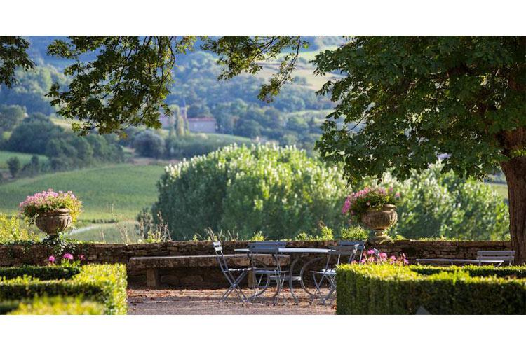 Garden - Château de Pierreclos - Pierreclos