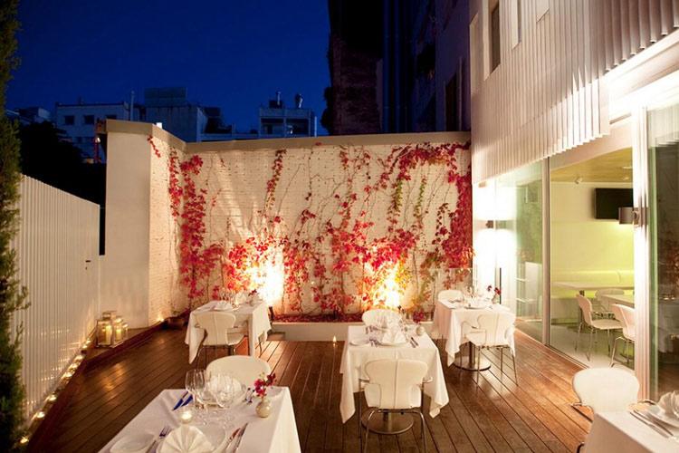 Terrace Restaurant - Alenti Sitges Hotel & Restaurant - Sitges