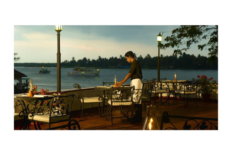 Terrace - Brunton Boatyard - Kochi