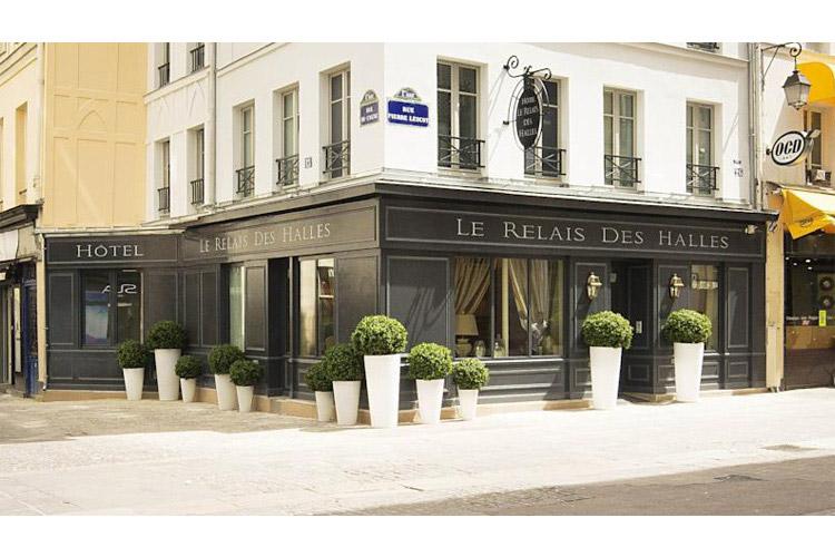 Facade - Le Relais des Halles - Paris