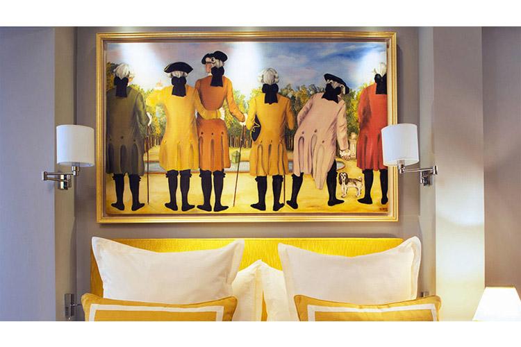 Comfort Double Room - Le Relais des Halles - Paris