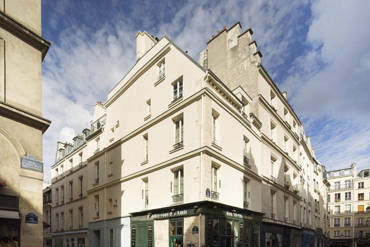 Facade - Hotel Dupond Smith - Paris