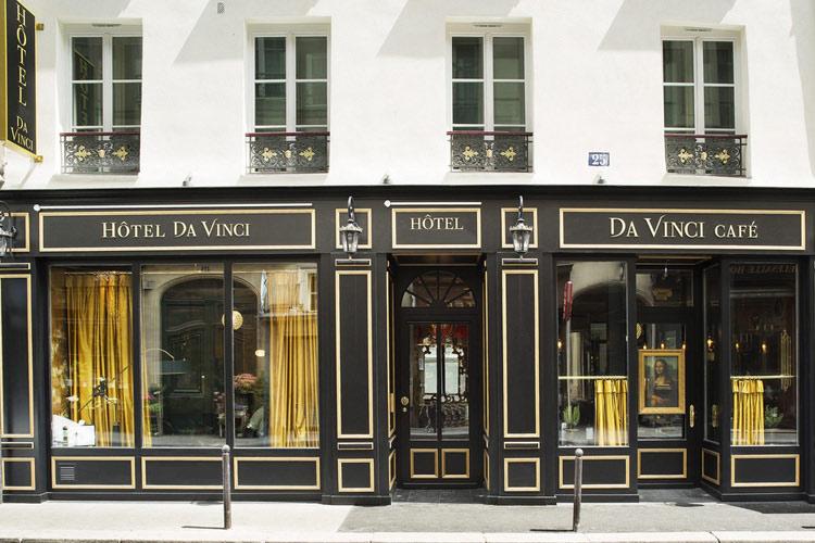 Facade - Hotel da Vinci - Paris