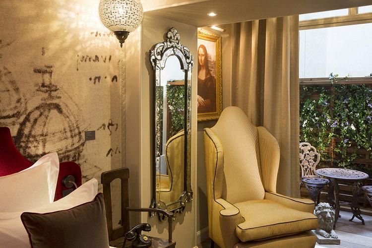 Monna Lisa Room - Hotel da Vinci - Paris