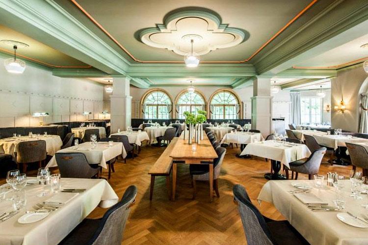 Restaurant - Le Grand Bellevue - Gstaad