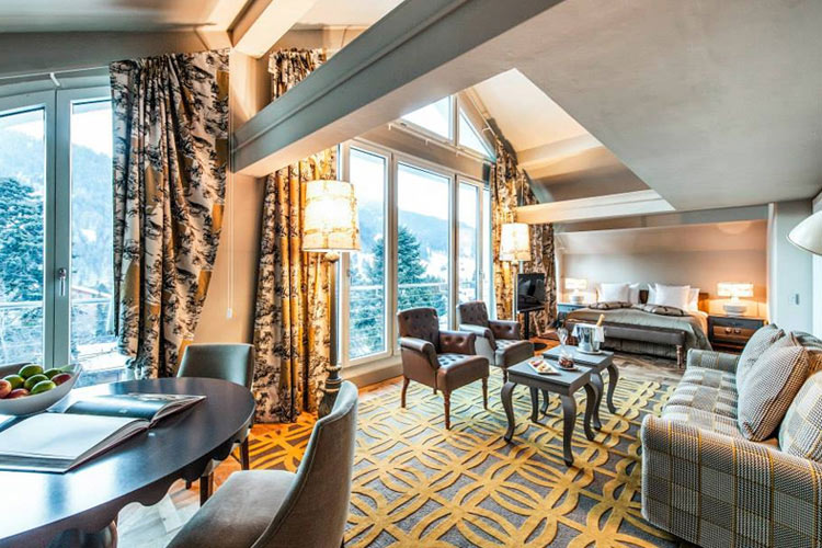 Suite Panorama - Le Grand Bellevue - Gstaad