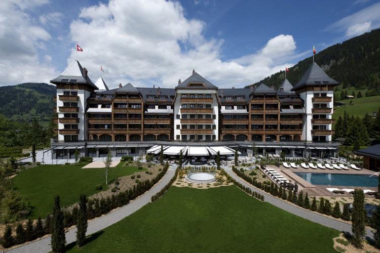 Facade - The Alpina Gstaad - Gstaad