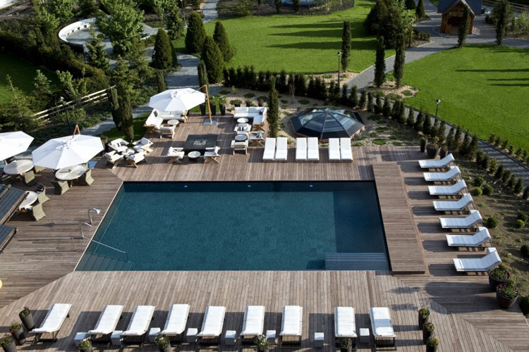 Swimming Pool - The Alpina Gstaad - Gstaad