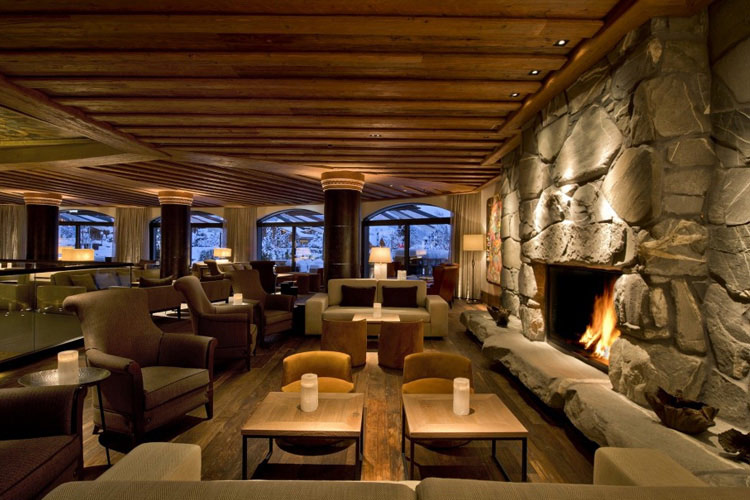 Lounge Bar - The Alpina Gstaad - Gstaad