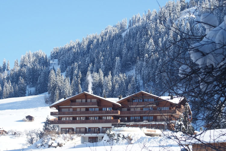 Facade - Hotel le Grand Chalet - Gstaad