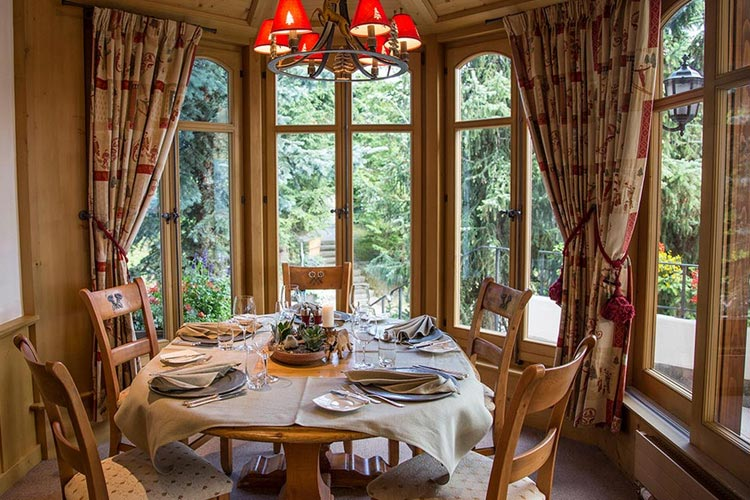 Restaurant - Hotel le Grand Chalet - Gstaad