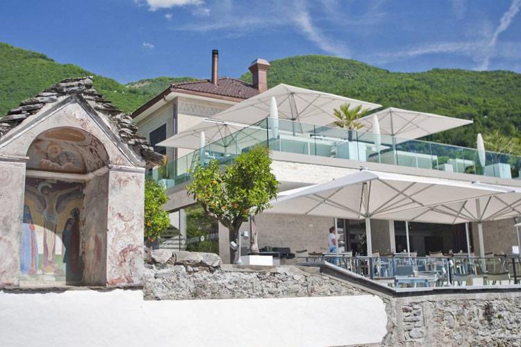 Giardino lago a boutique hotel in minusio for Design hotel tessin